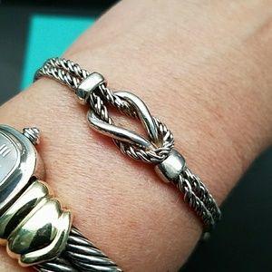 153f19bfe Tiffany & Co. Jewelry | Tiffany Co Double Rope Love Knot Bracelet ...